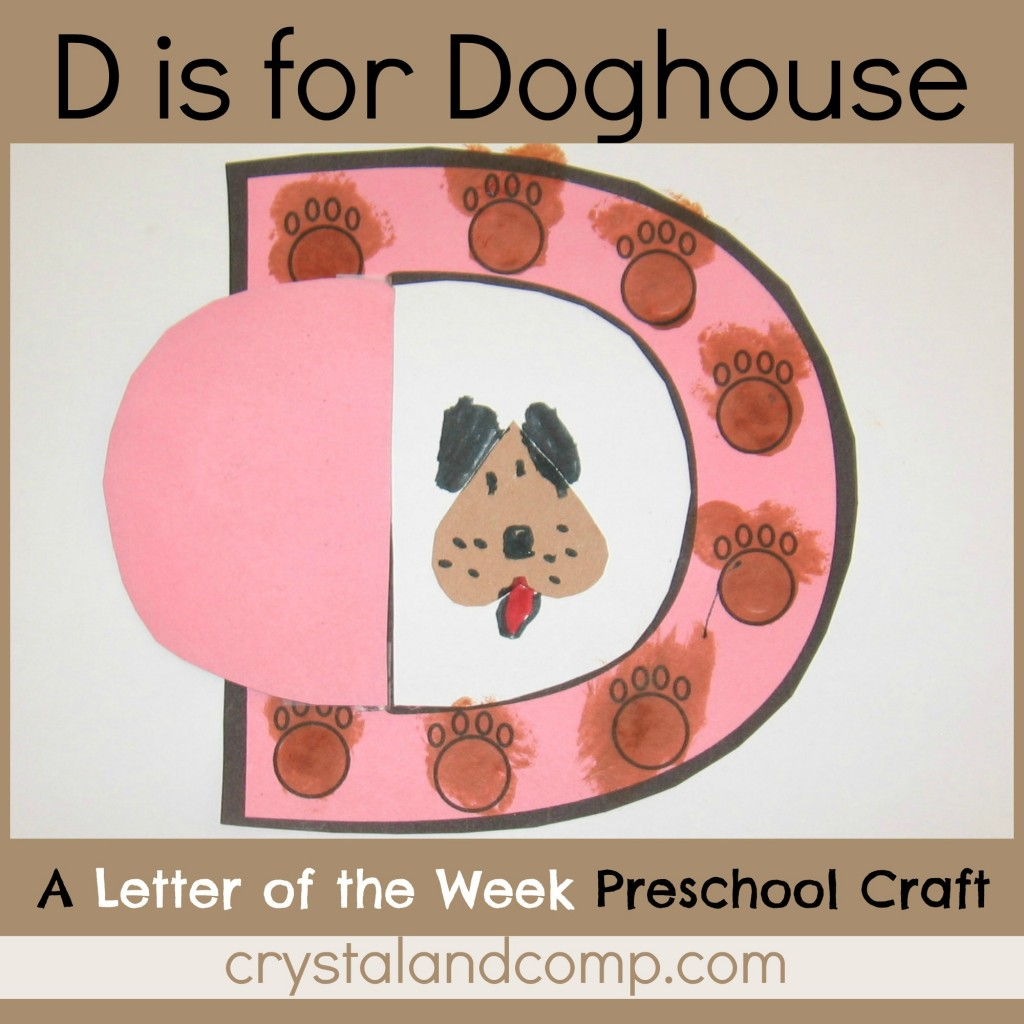 d is for doghouse