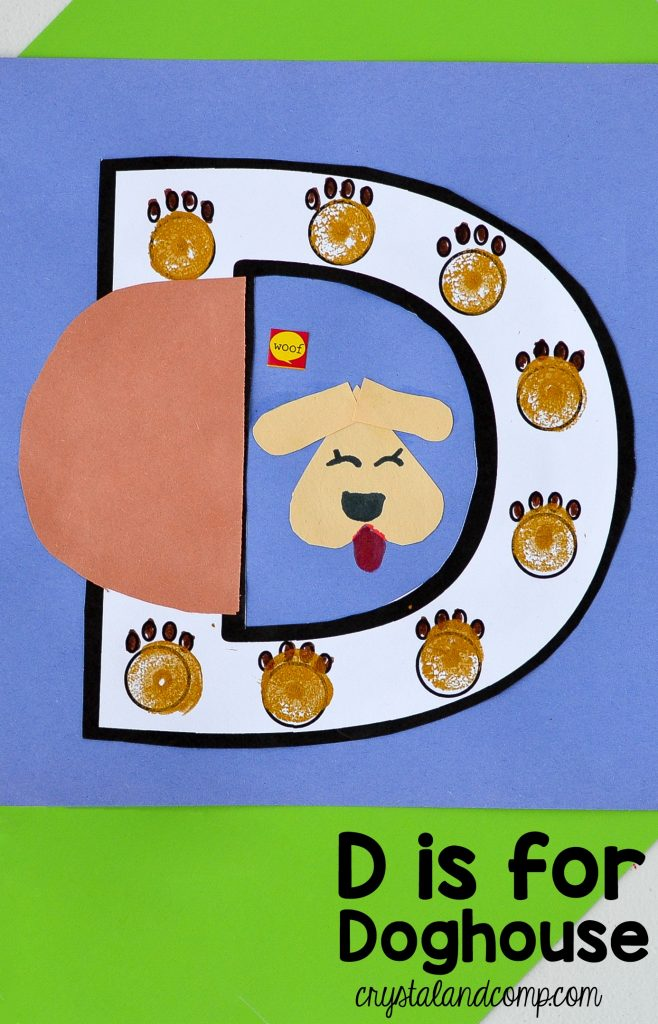 D Is For Doghouse Letter Of The Week