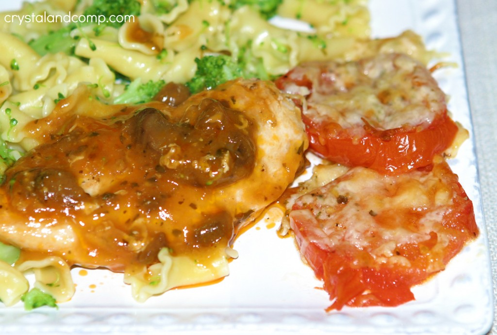 easy tomatoe side dish recipe