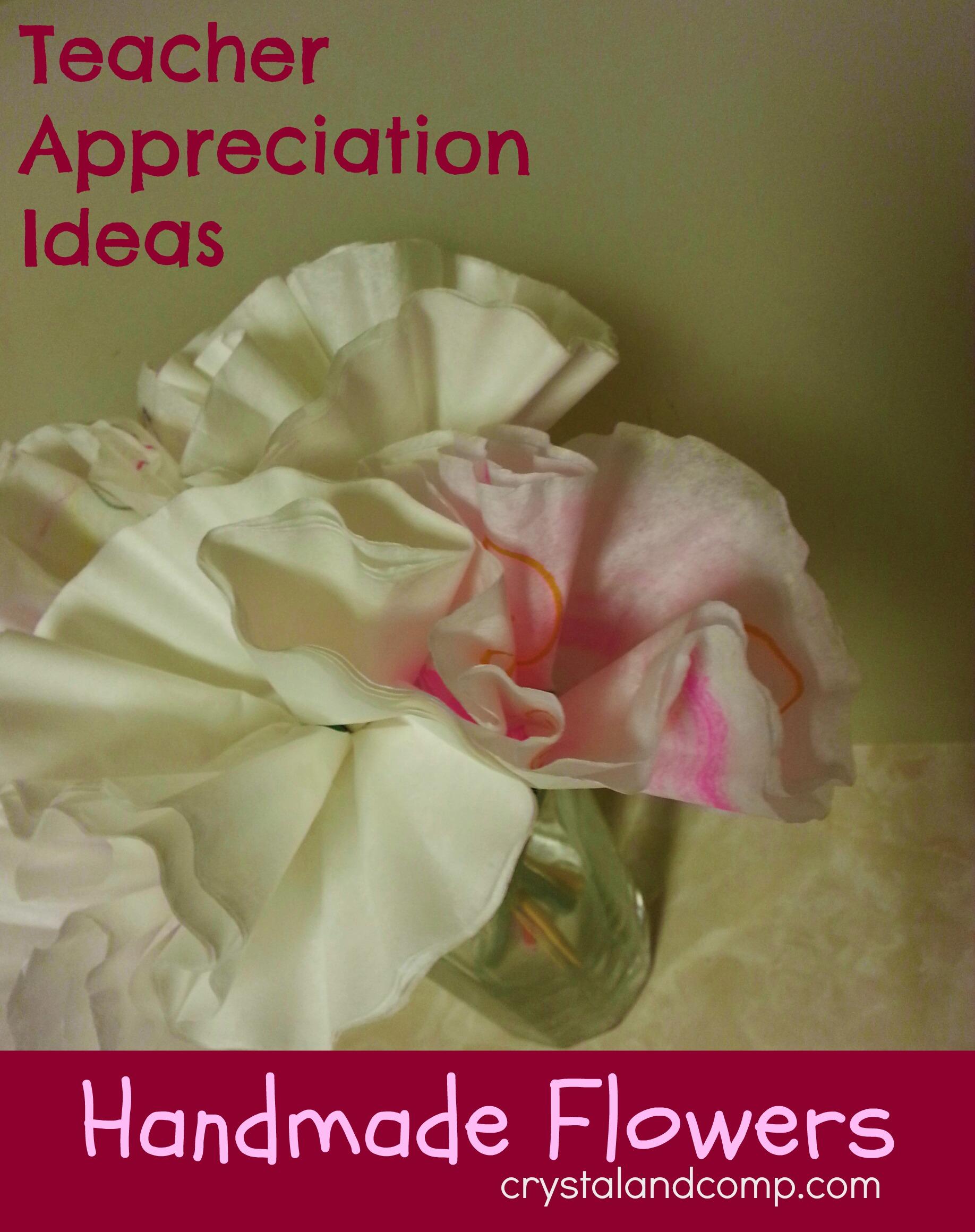 Teacher Appreciation Flower Ideas