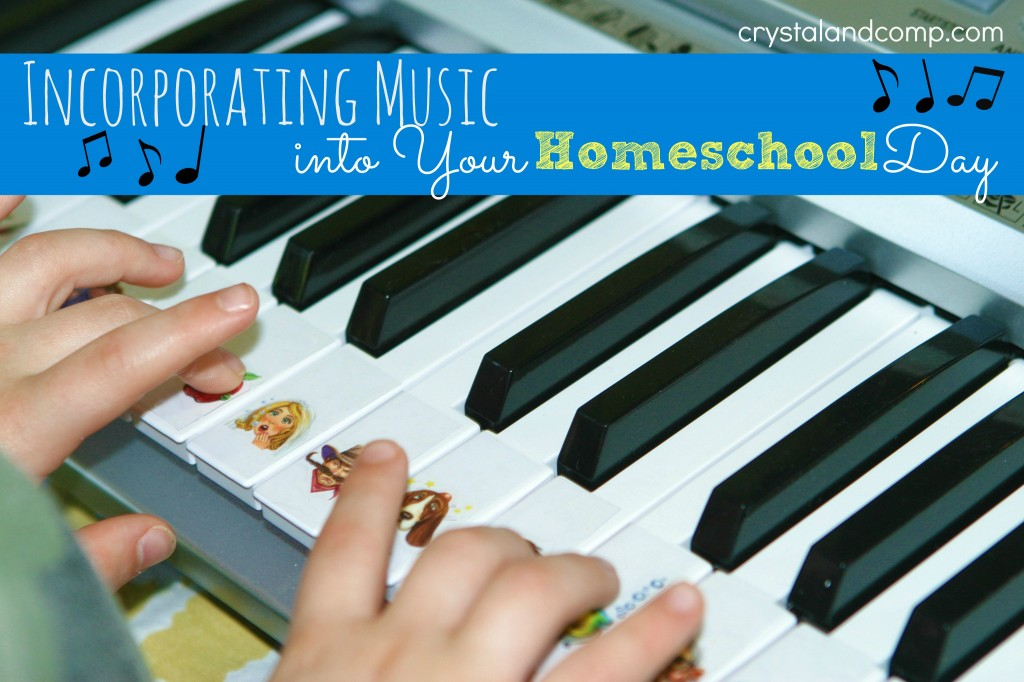 incorporating music into your homeschool day