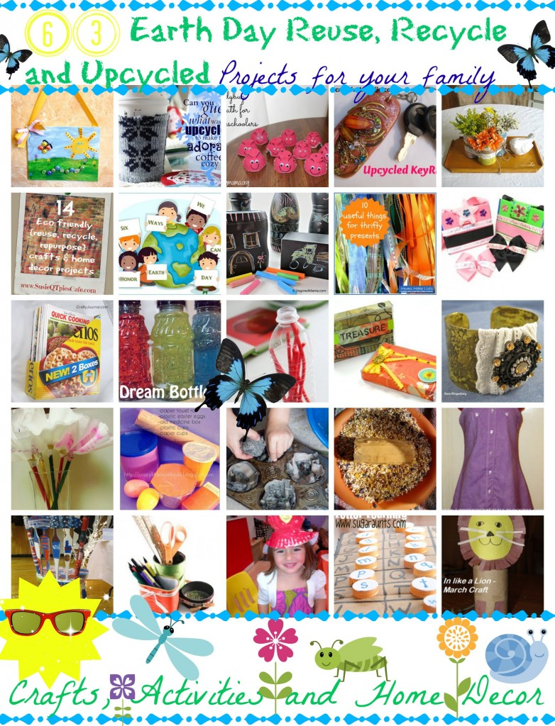 Recycled Activities for Earth Day