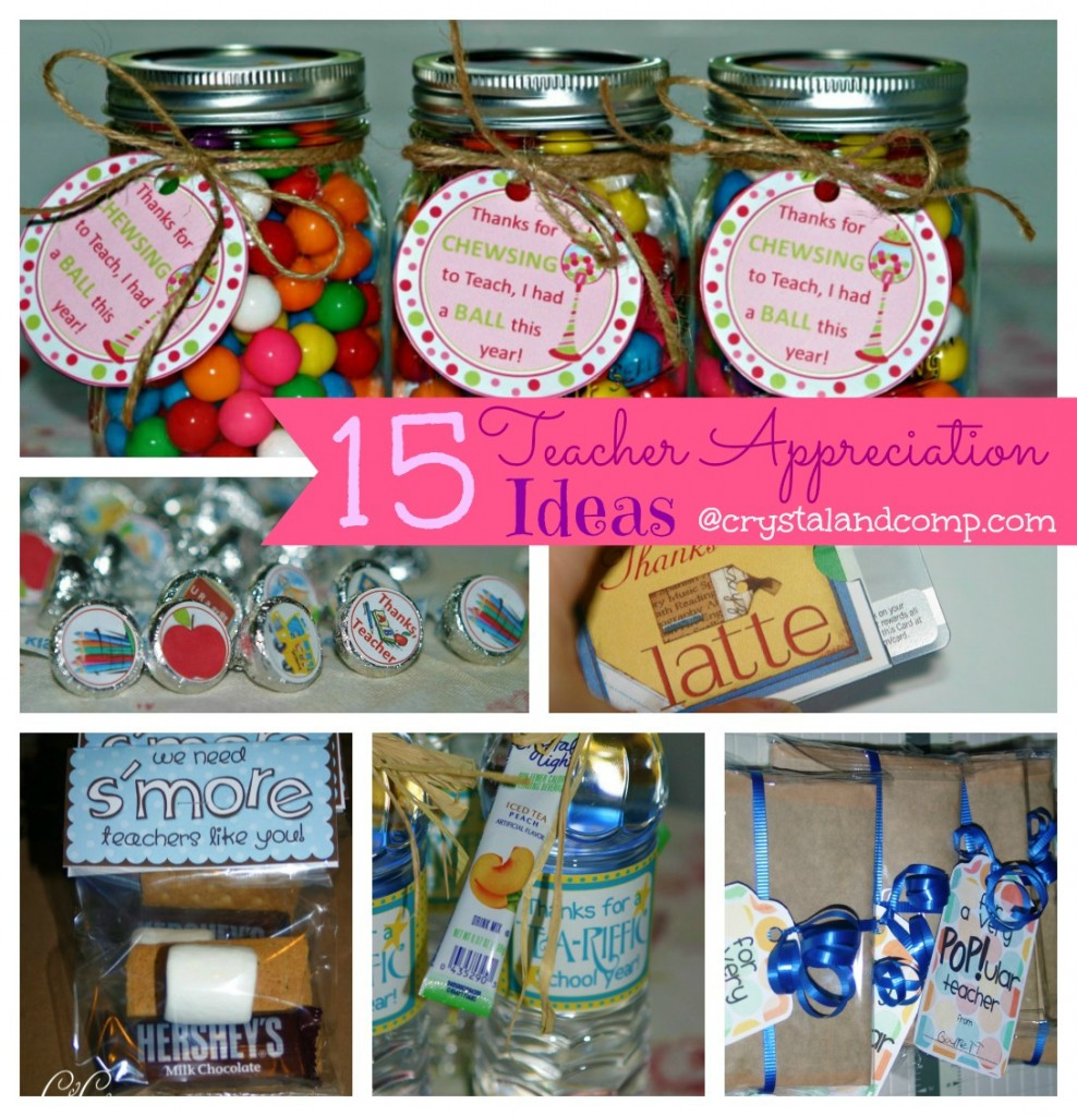 Classroom Thank You Ideas ~ Teacher appreciation gift ideas bubble gum