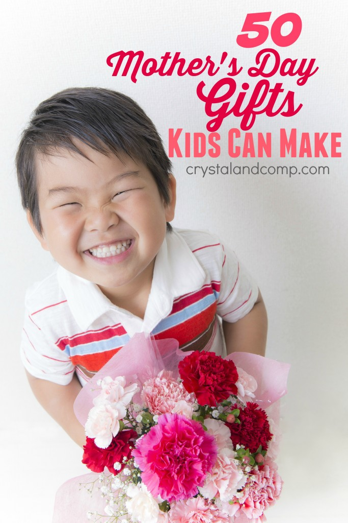 50 mothers day gifts kids can make