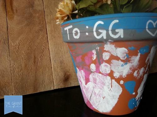 Activities for kids creating custom flower pots