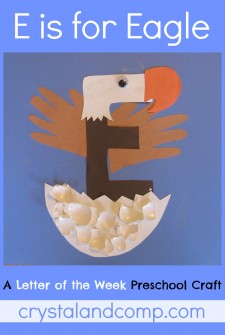 Letter of the Week Crafts E is for Eagle