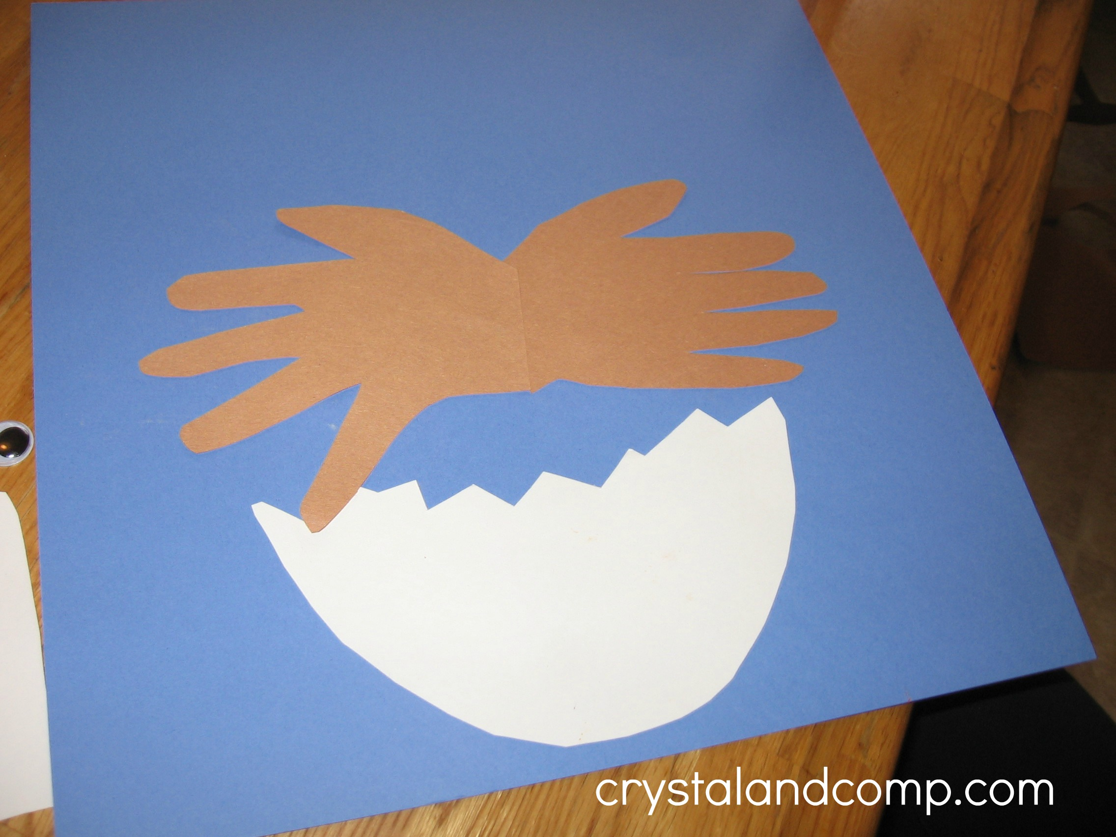 e is for eagle letter of the week preschool craft