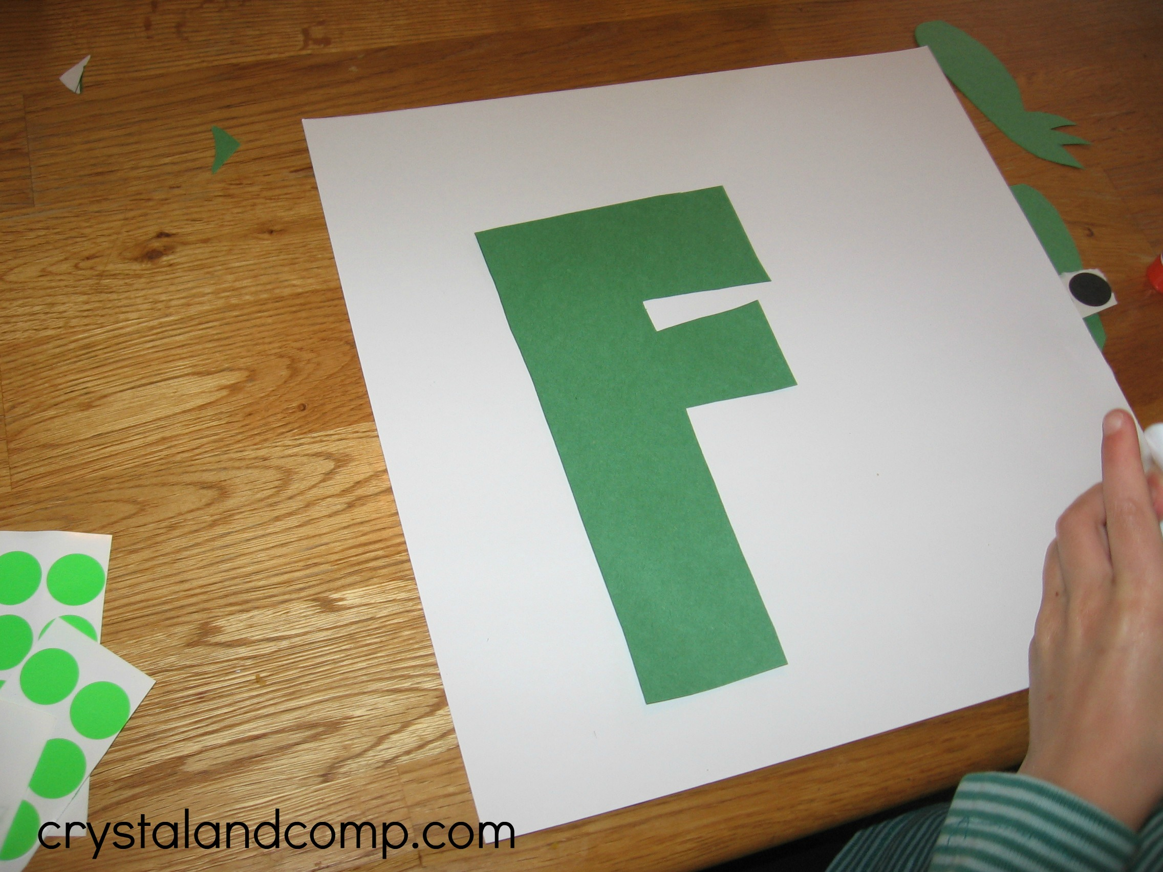 letter of the week f is for frog