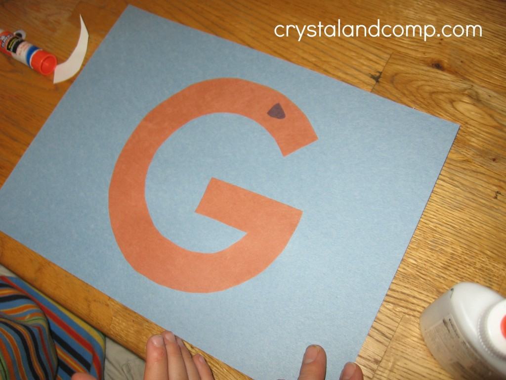 G is for Goat crystal and comp