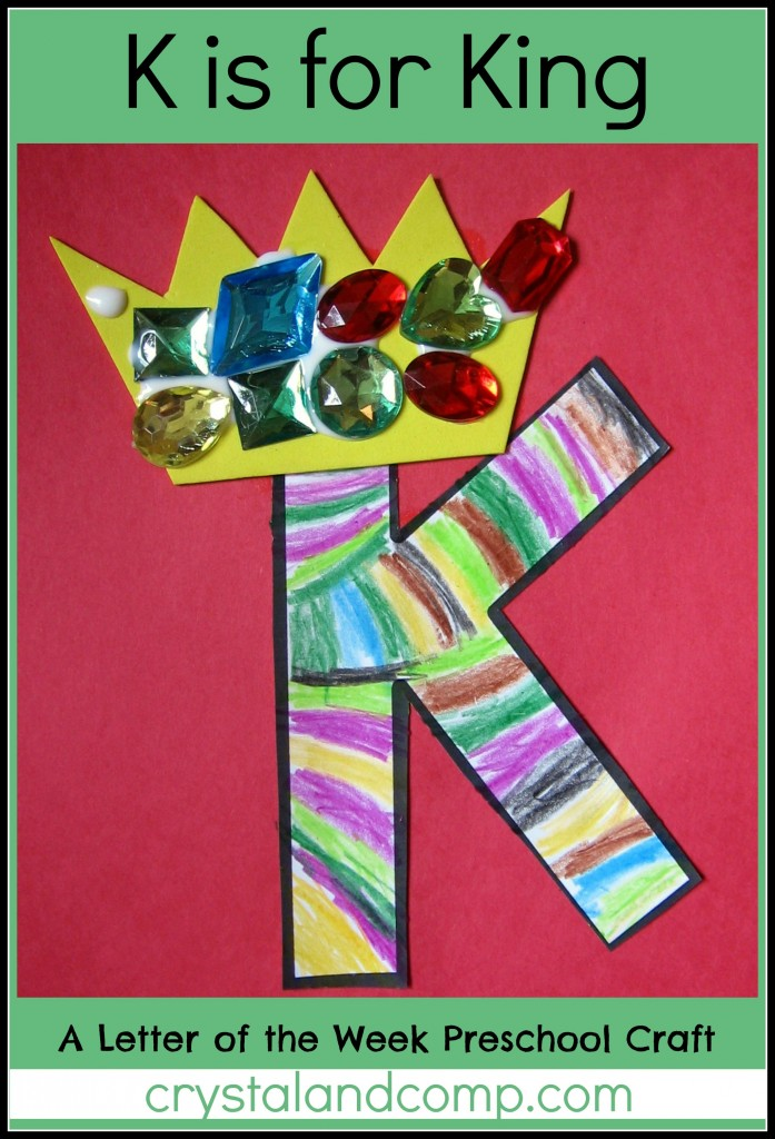 letter a projects for preschool alphabet activities for preschoolers k is for king 12931