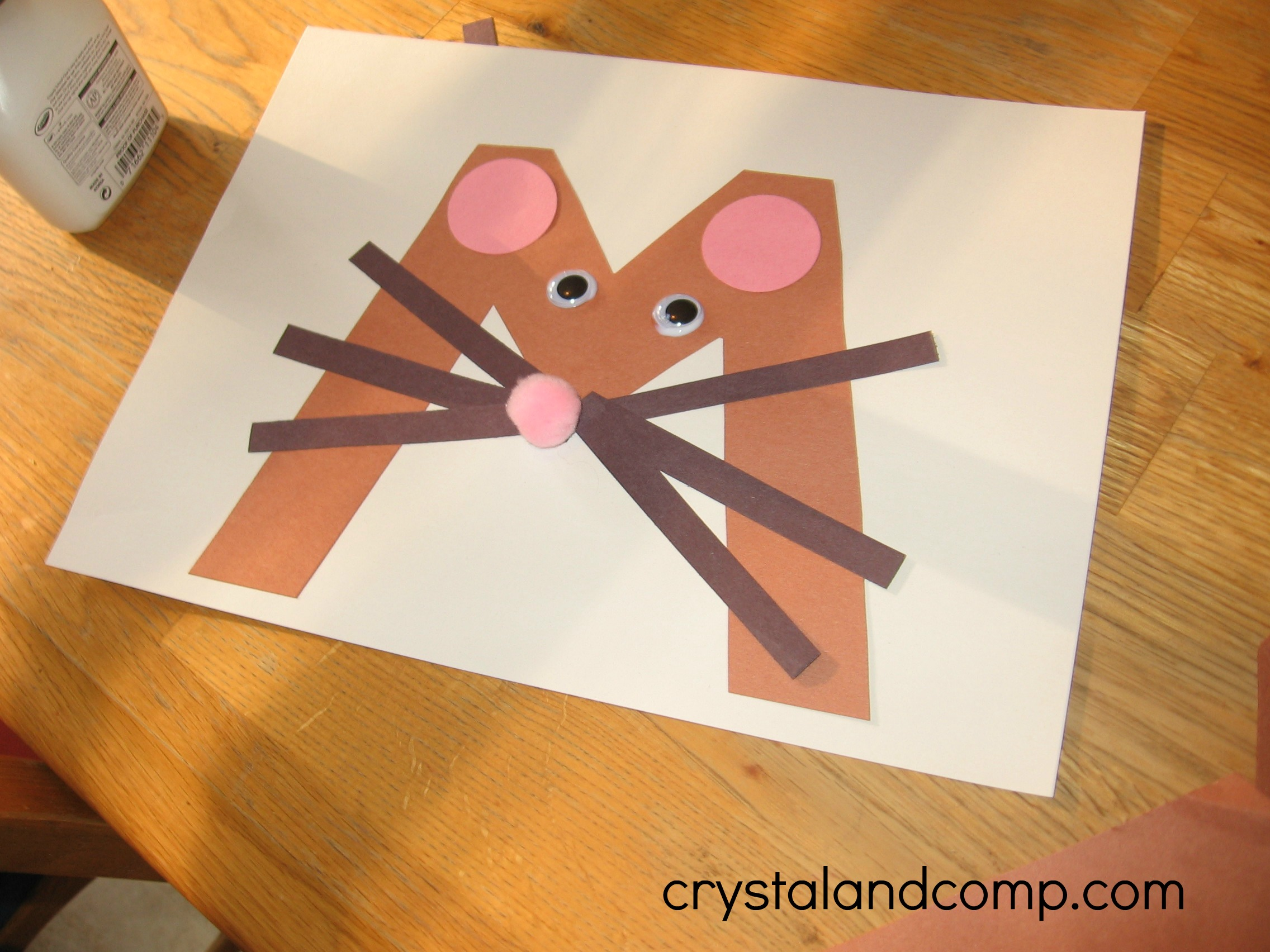 preschool mouse craft alphabet activities for preschoolers m is for mouse 555