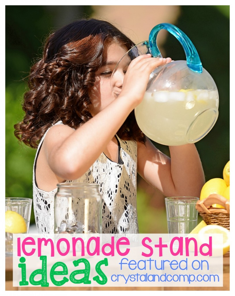 lemonade stand ideas for kids