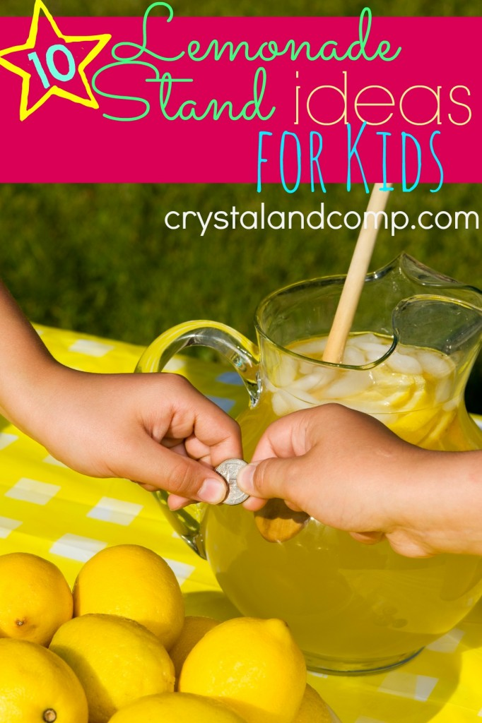 lemonnade stand ideas for kids