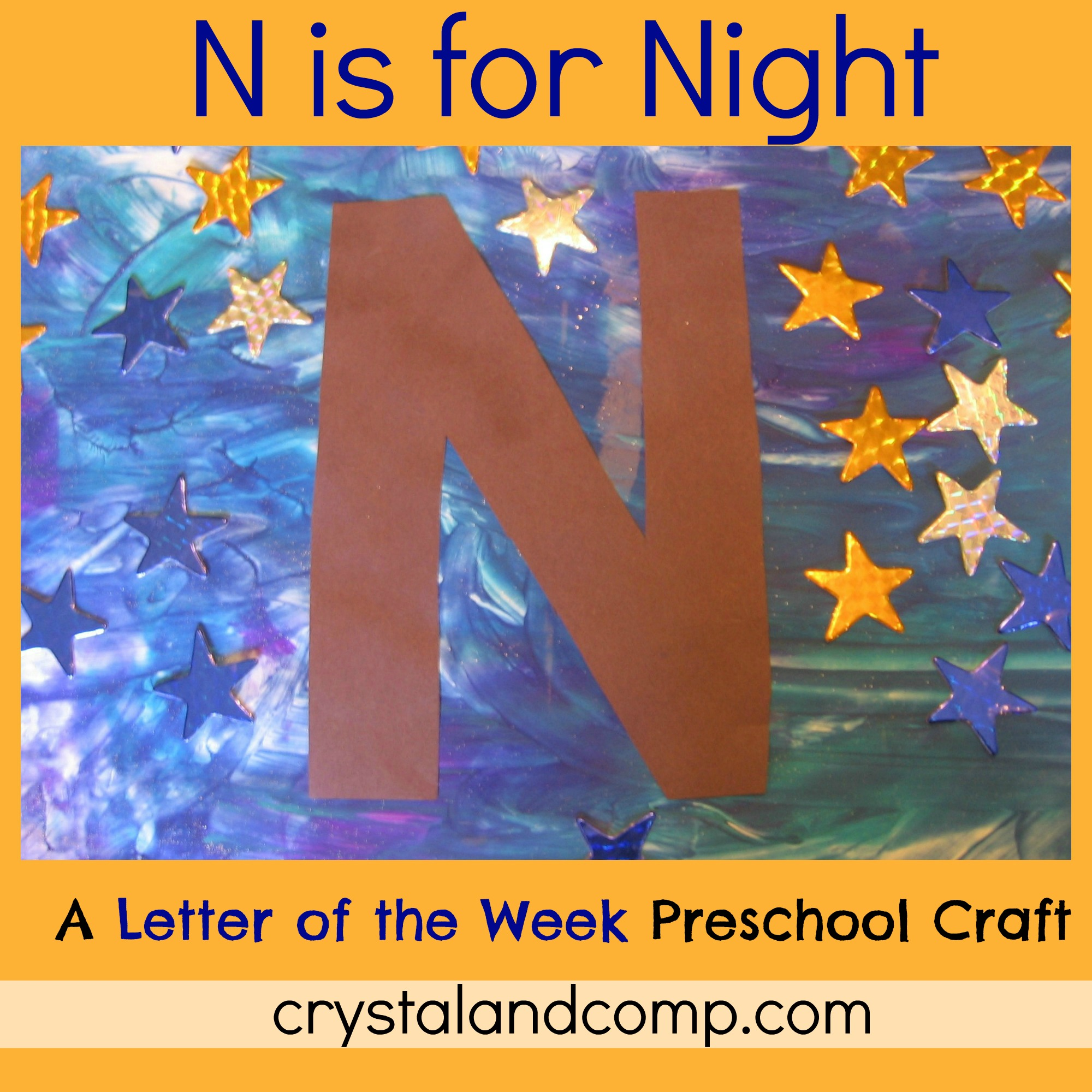 Our Crafts ~N~ Things » Letter N