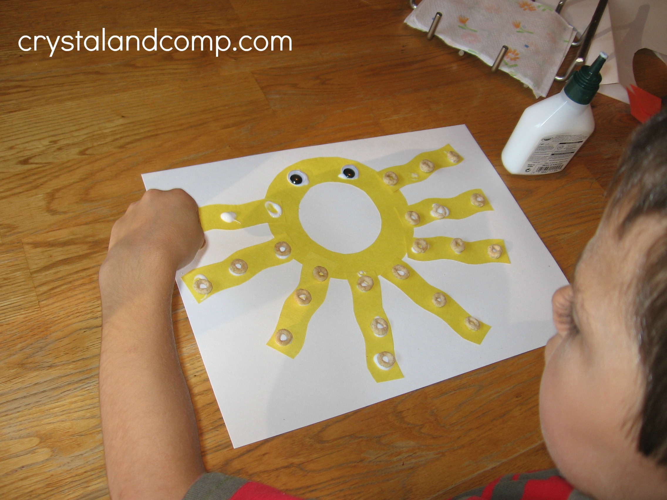 4 year old arts and crafts - O Is For Octopus Letter Of The Week 4