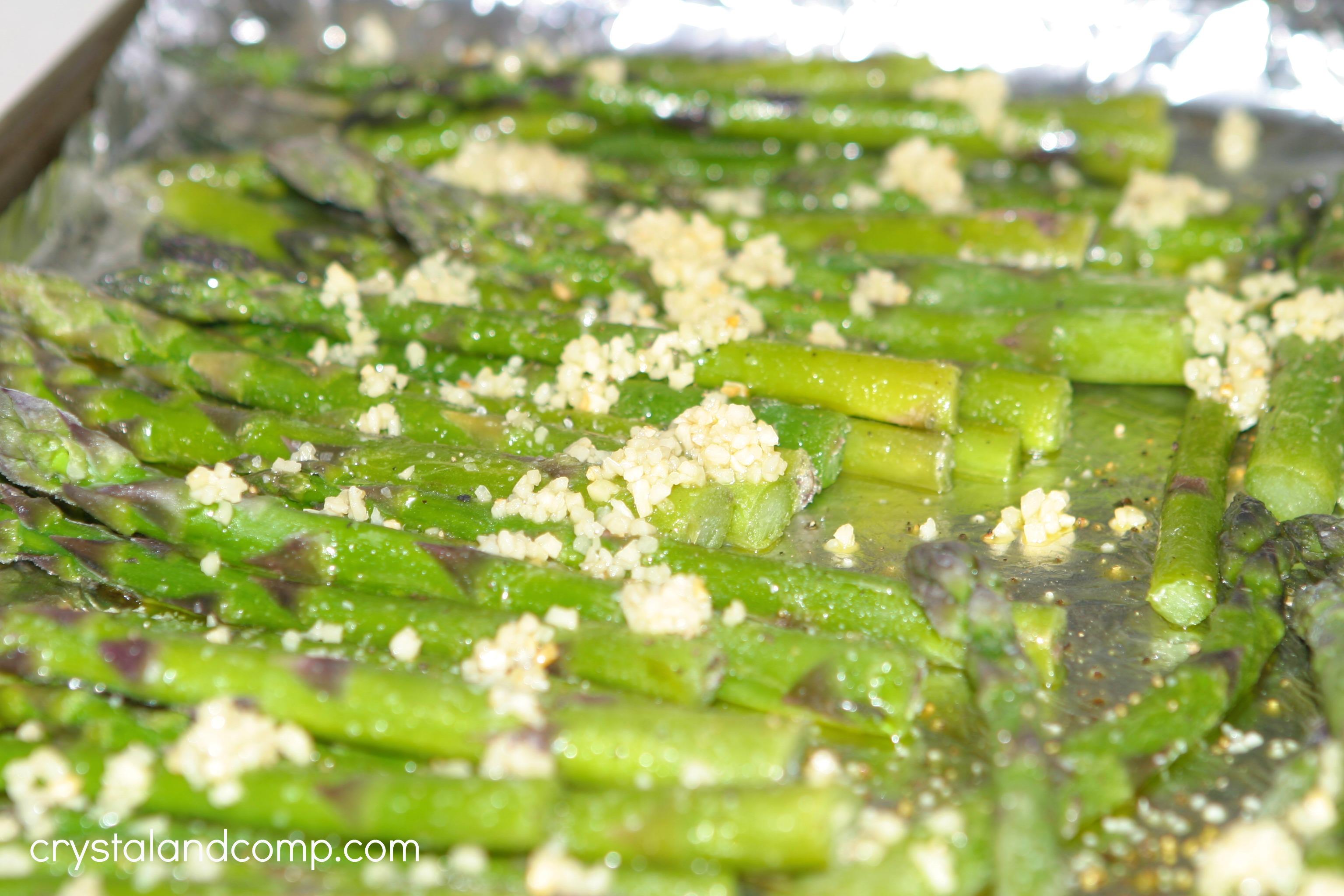 How To Bake Asparagus Real Easy Recipes: Baked Asparagus