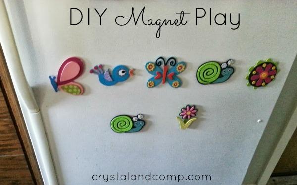 DIY Magnet play