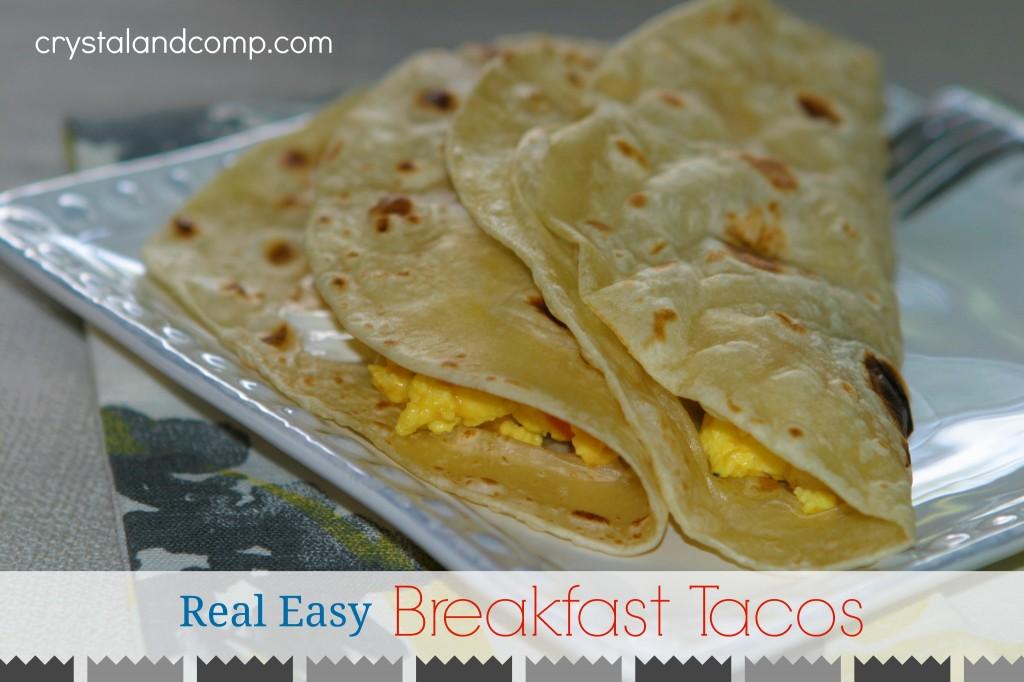 real easy recipes breakfast tacos