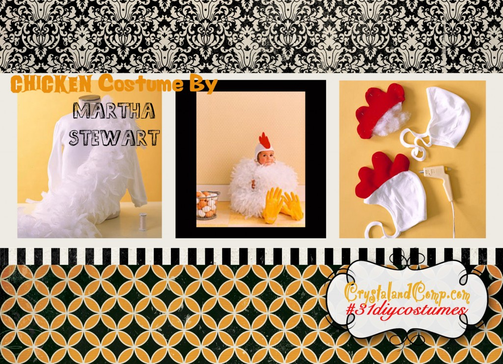 diy halloween costumes kids chicken costume