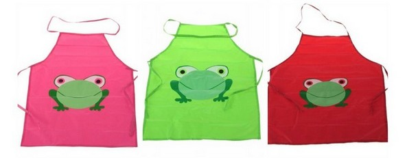 Cute Frog Apron For Kids Great Cooking Or Painting 1 46 Shipped