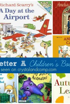 Books to Read While Your Little One Learns the Letter A