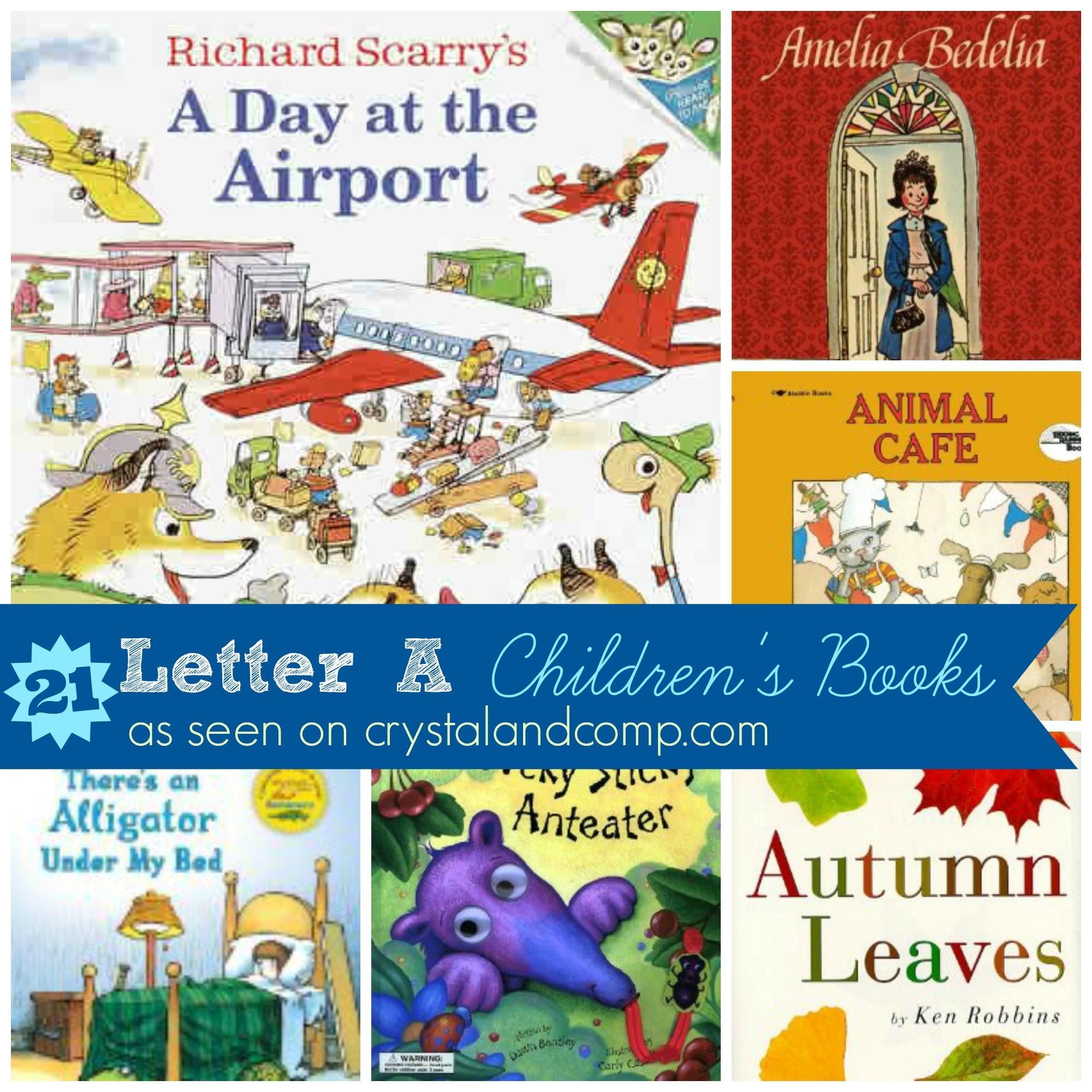 Books children must read letter a for Children s craft books