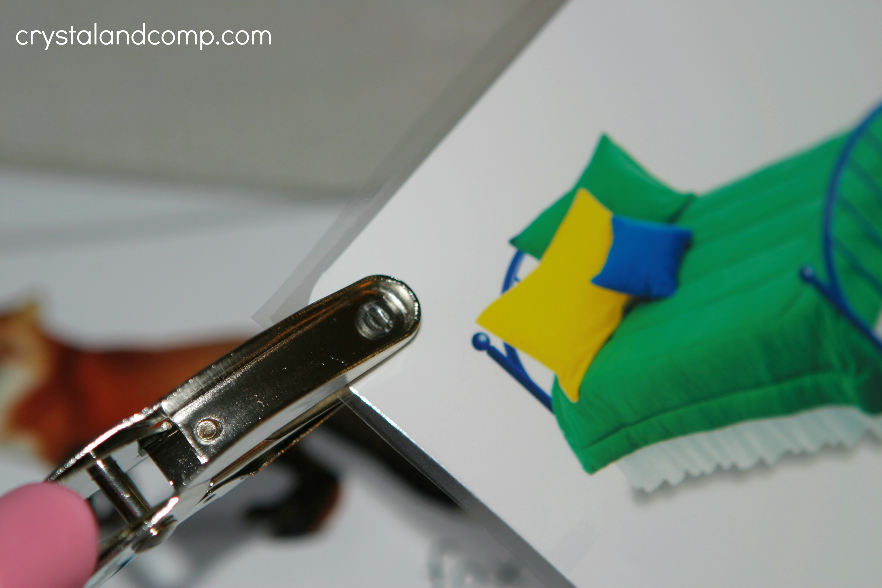 Teach your preschooler their abcs use a hole punch to make a hole in the upper corner solutioingenieria Choice Image