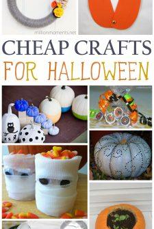 Cheap Halloween Crafts
