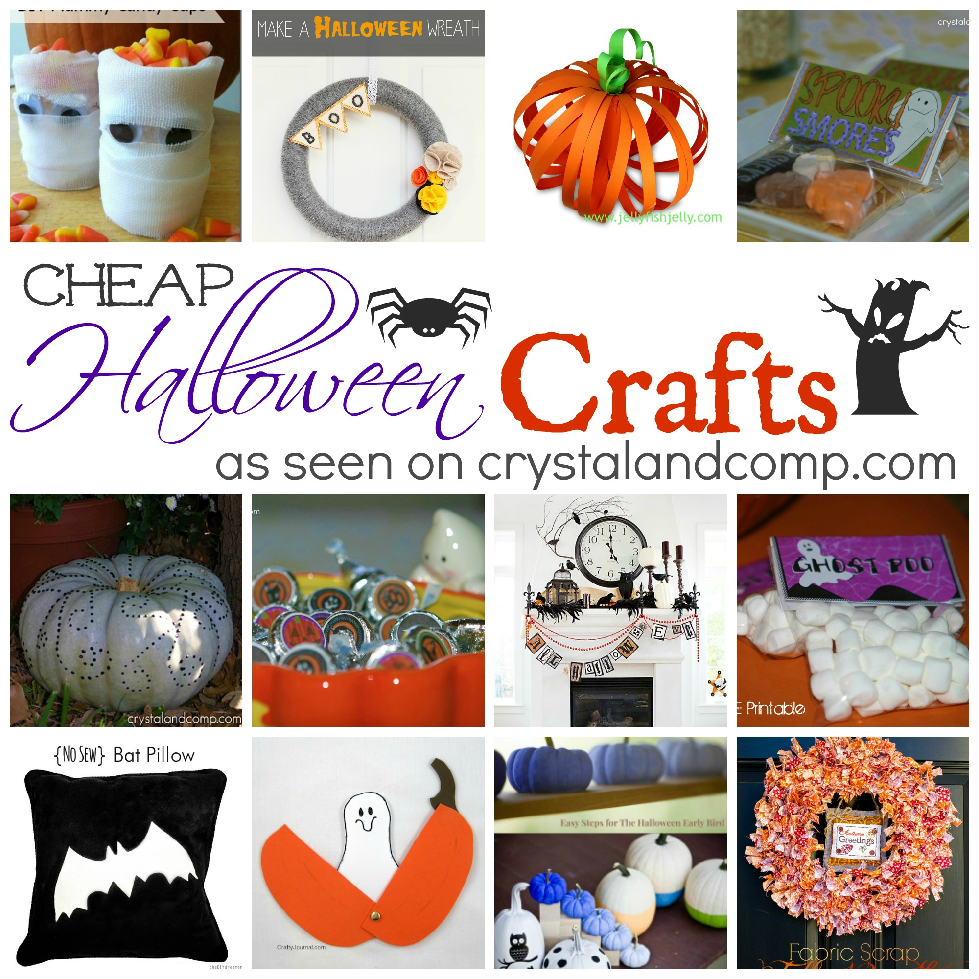 cheap halloween crafts - Cheap Halloween Crafts