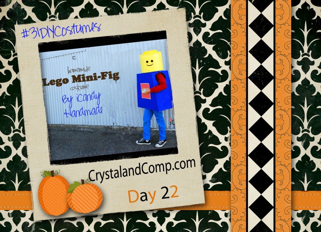 DIY Halloween Costumes: Lego Mini Figure Costume