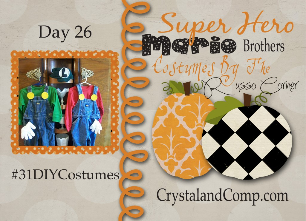 DIY Halloween Costumes: Super Mario Brothers #31DIYCostumes