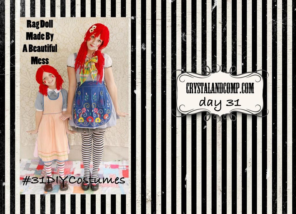 DIY Halloween Costumes (Rag Doll) #31DIYCostumes
