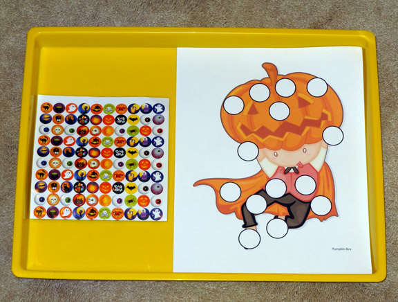 preschool worksheets halloween do a dot printables