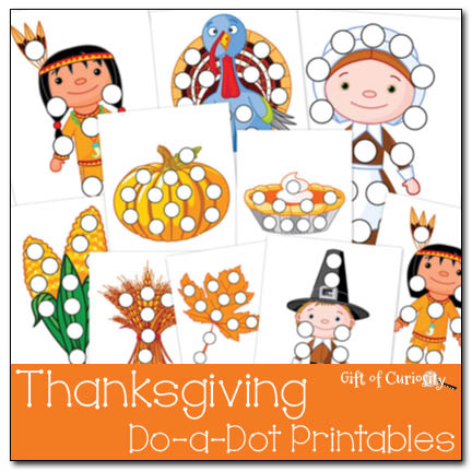 Thanksgiving Do-a-Dot Printables