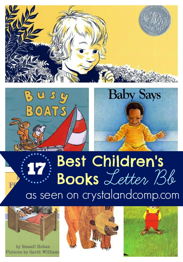 books children must read: letter b