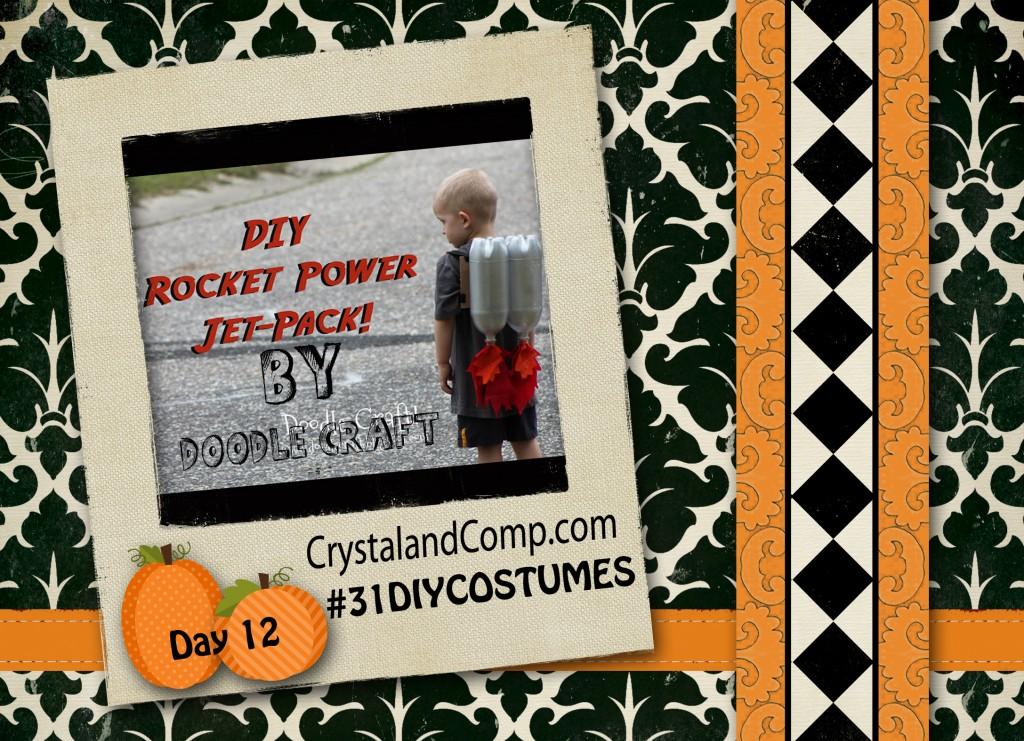 DIY Halloween Costumes Rocket Power Jet Pack