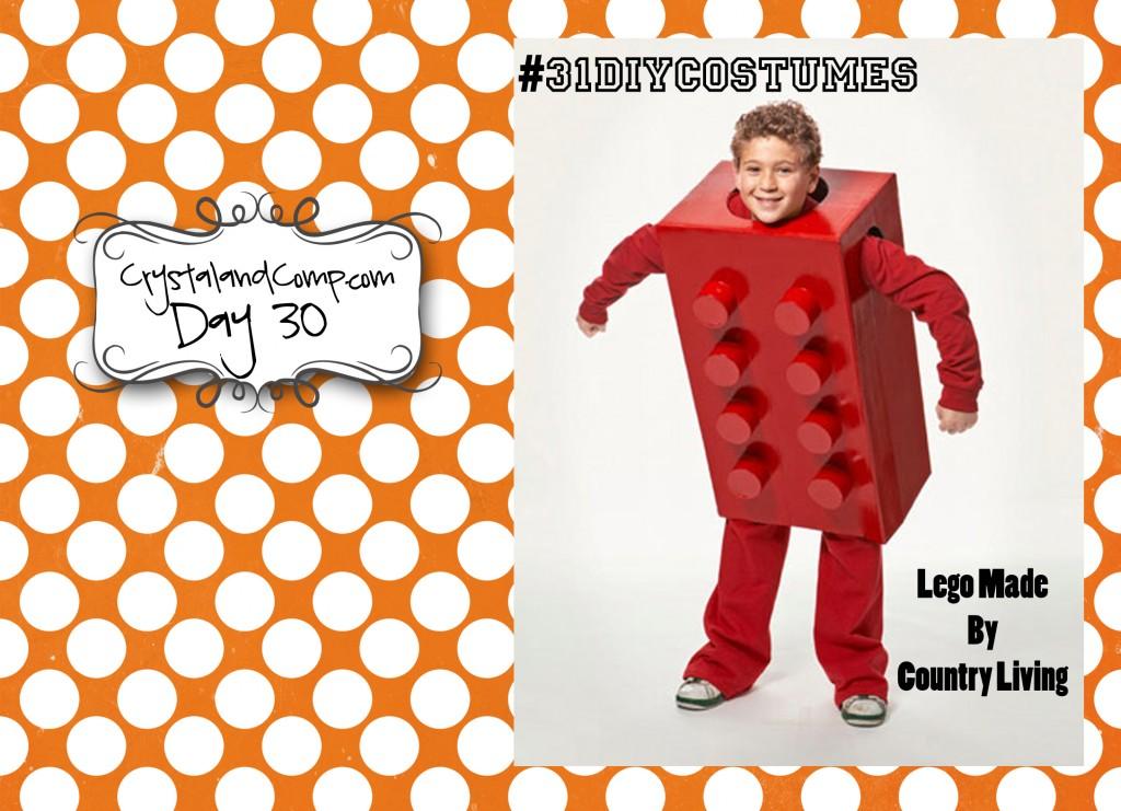 DIY Halloween Costumes Lego Costume