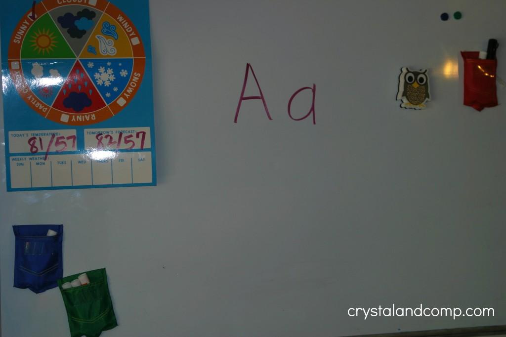 preschool letter worksheets (a is for alligator)