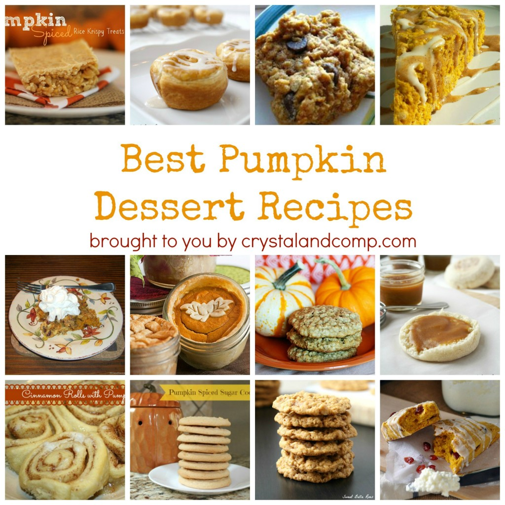 15 Best Pumpkin Dessert Recipes