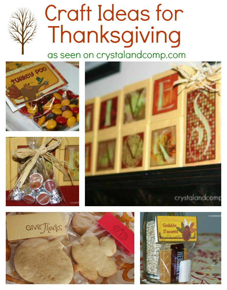 5 Craft Ideas for Thanksgiving