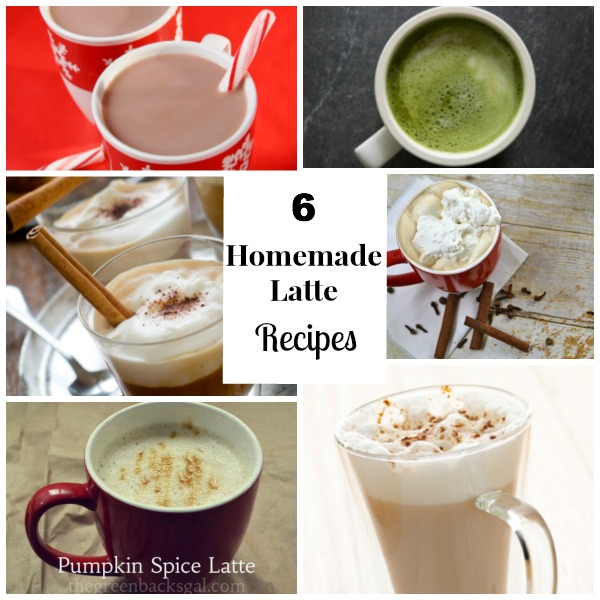 6 Homemade Lattes