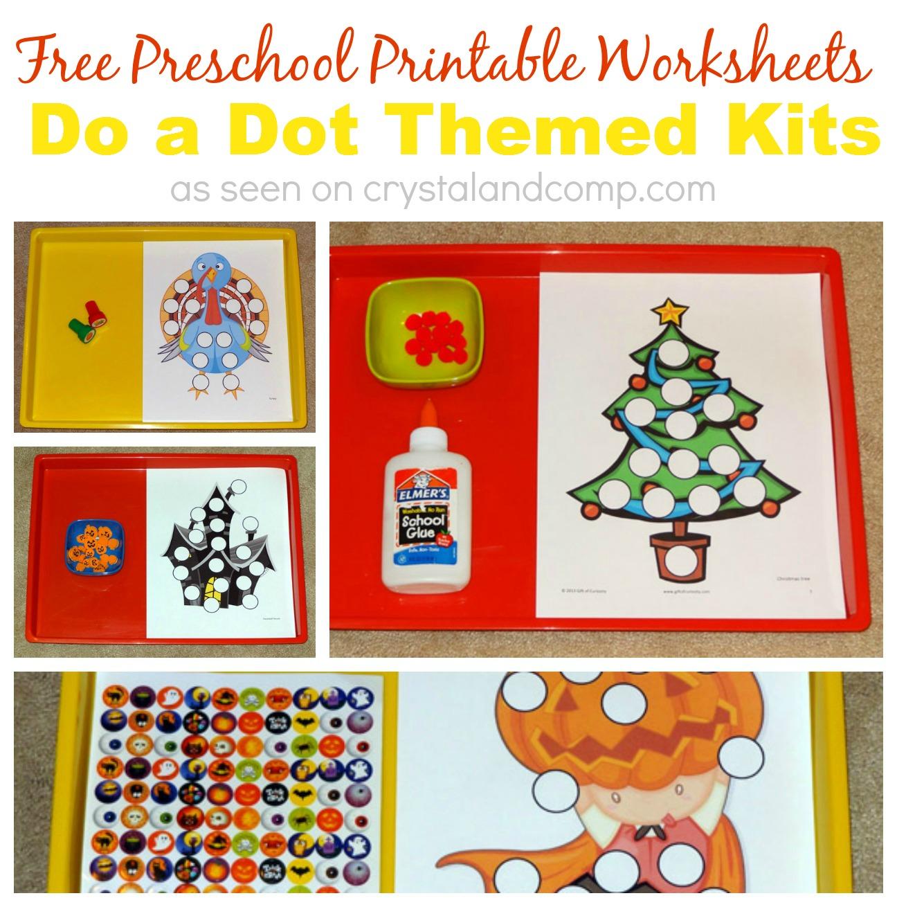 free preschool printable worksheets - Free Preschool Printable
