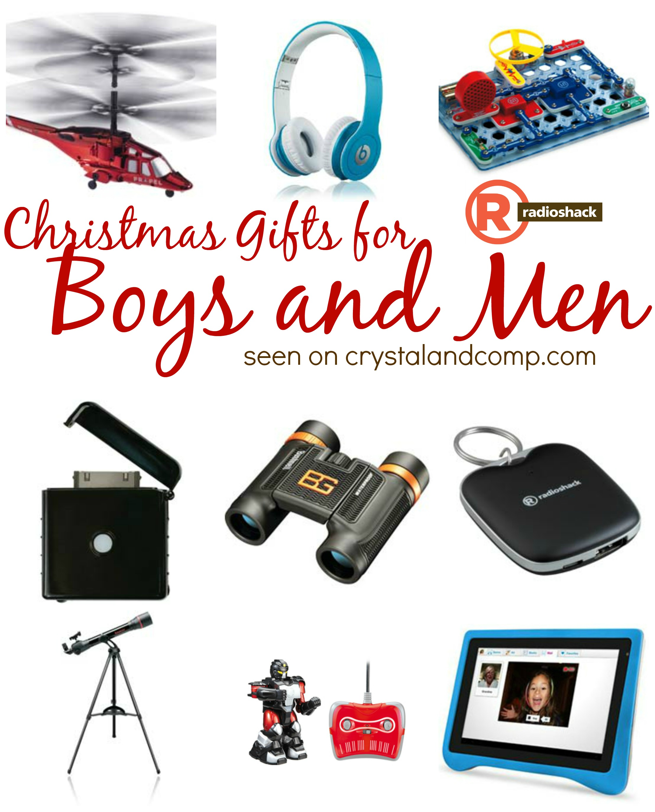 Christmas Toys For Boys : Christmas gifts for boys and men radioshack