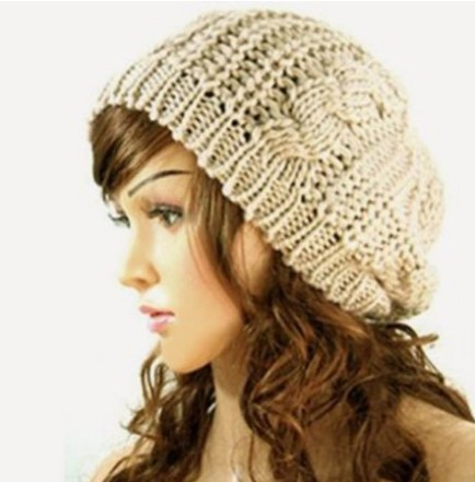 Women s Chunky Knit Beanie Hat as Low as  3.00 Shipped! Cute Gift ... fd727ea7b83