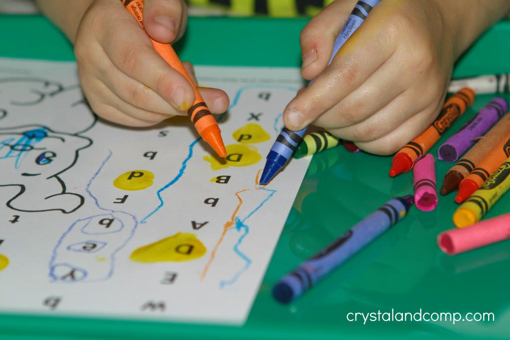 free printable preschool letter worksheet
