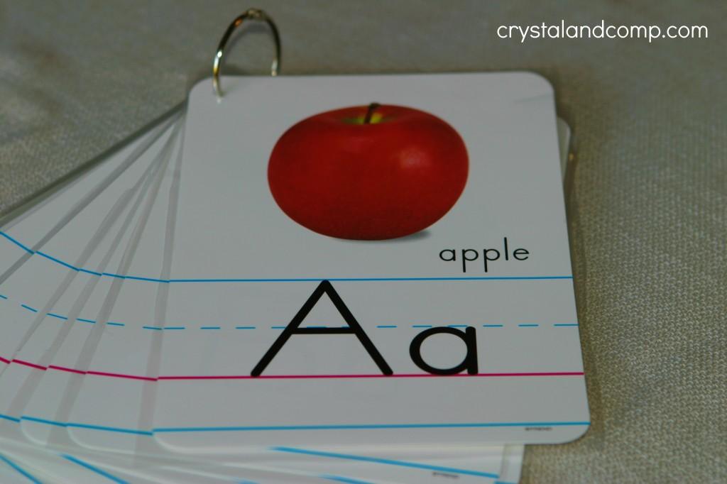 how to make an alphabet flipbook on the cheap