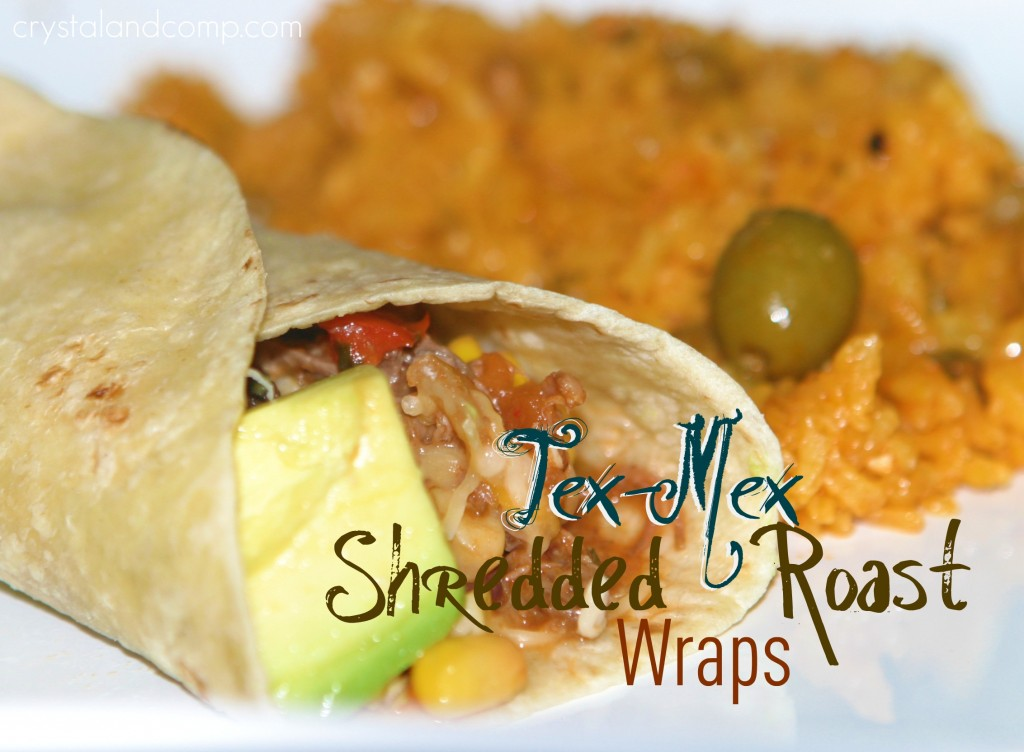 beef recipes tex mex wraps using roast