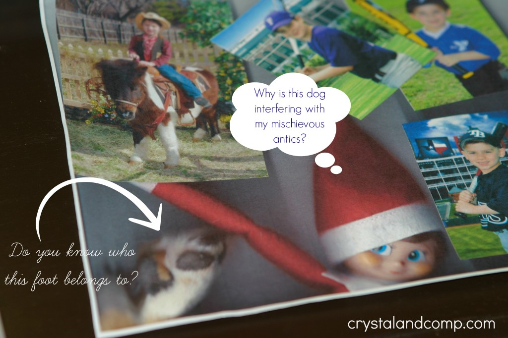 elf on the shelf ideas on the printer