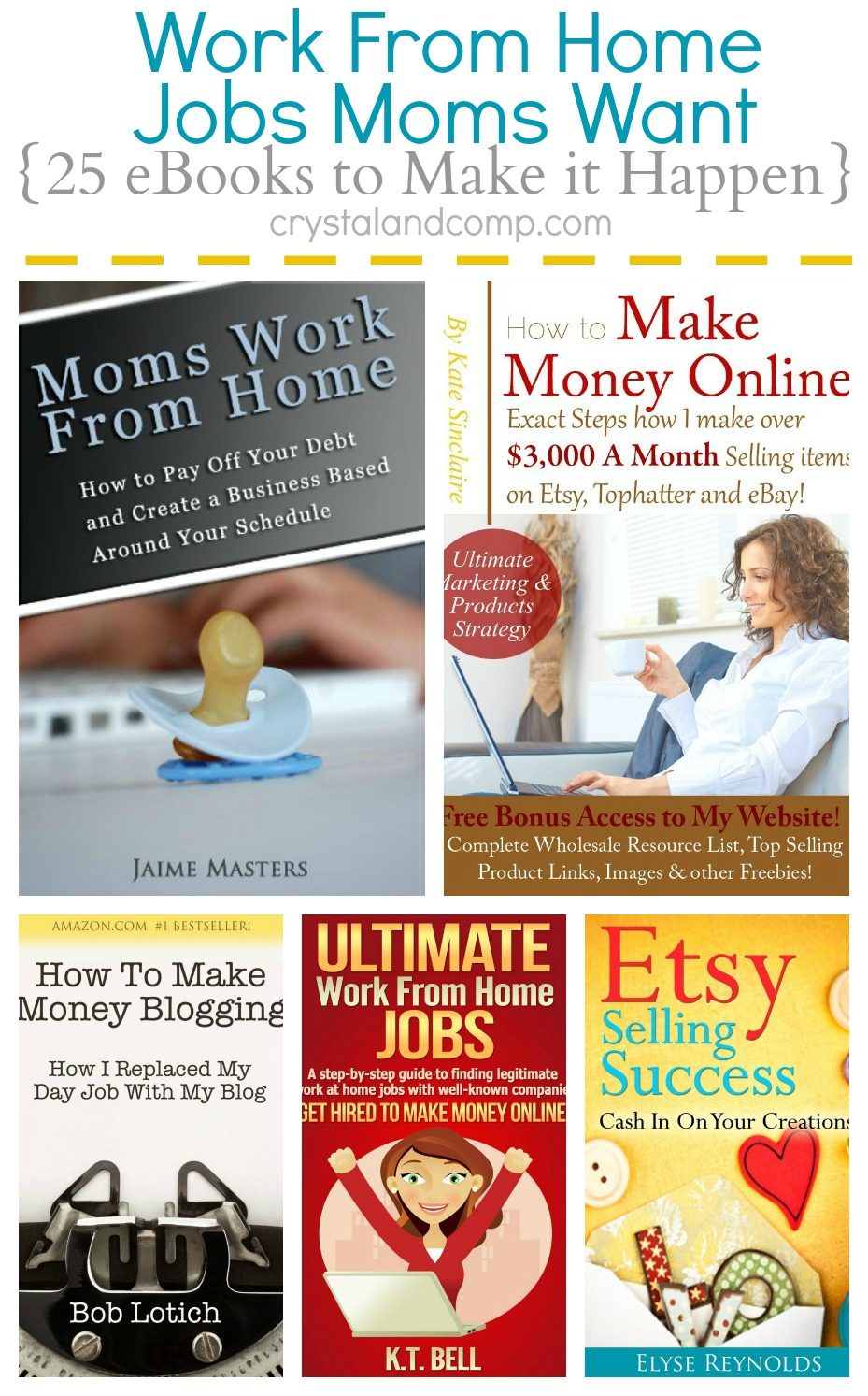 working at home mom jobs