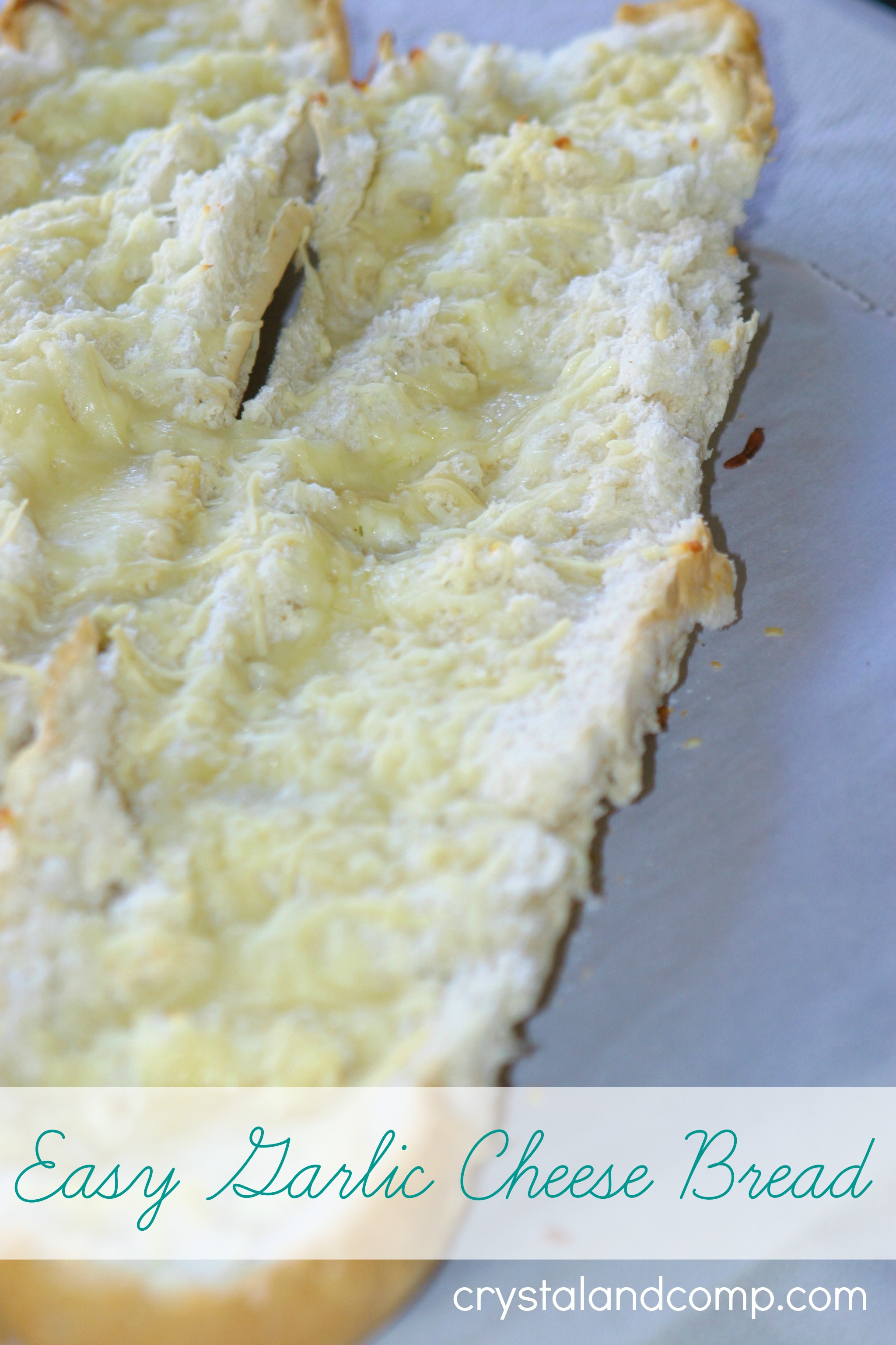 easy garlic cheese bread
